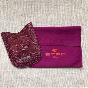 Etro Leather Phone/Card Case